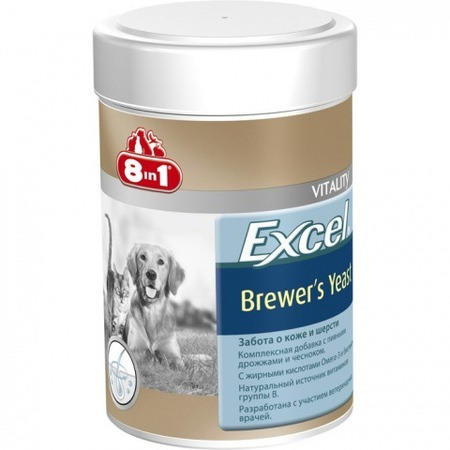 "8 in 1 ""Excel Brewers Yeast""  Превью"